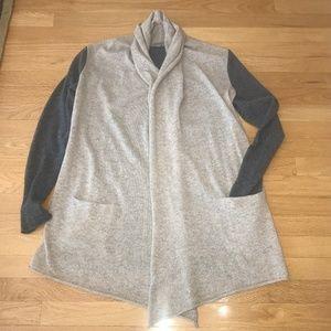 Athleta 100% Cashmere Waterfall Sweater Size M